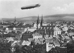 Zeppelin nad Chebem https://www.facebook.com/photo.php?fbid=820133834688581