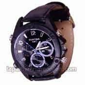 Jam Tangan dengan Kamera Tersembunyi HD1080 Night Vision - SKU : A.0009 - Z7KuLe