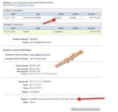 استرداد المال من موقع Gearbest