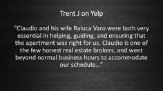 People love us on Yelp! #VaroRealEstate #RealEstate #Realtor #Chicago #Renting #Apartment #Home