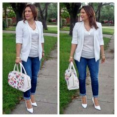 ForEver21 Blazer Charlotte Russe pumps Betsey Johnson purse ♡