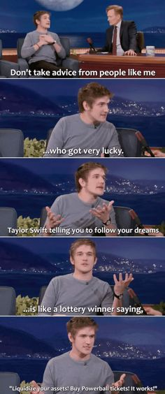 Bo Burnham's advice to young people