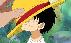 Who owns that huge hand? #Luffy Is it Shanks'? It just looks really really really big... or Garp or Dadan.... idk