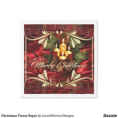 Shop Christmas Tissue Paper Paper Napkins created by LovedWarriorDesigns. Paper Paper, Tissue Paper, Party Napkins, Christmas, Join, Painting, Design, Products, Xmas