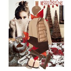 """""""Christmas Day Casual"""" by jacque-reid on Polyvore"""