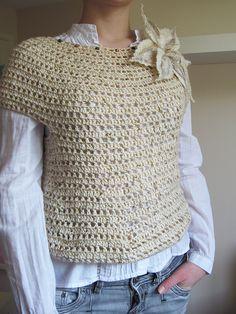 Fabulous Crochet a Little Black Crochet Dress Ideas. Georgeous Crochet a Little Black Crochet Dress Ideas. Pull Crochet, Mode Crochet, Crochet Jumper, Black Crochet Dress, Crochet Cardigan, Crochet Shawl, Knit Crochet, Crochet Tops, Easy Crochet