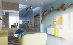 Trang trí nội thất với thảm trải sàn hiện đại