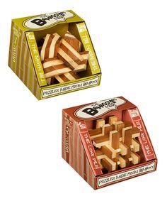 Novice Bamboozler Puzzle Set   zulily