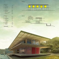 Shipping container vacation home wins Bondi Beach competition. Czech architect Ales Javurek has been named the winner of an AC-CA competition to design a holiday home overlooking the Bondi Beach waterfront in Sydney using discarded shipping containers.