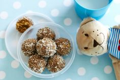 Coconut, walnuts and peanut butter are a winning combo and these no-cook, gluten-free mouthfuls are bliss in a bite.