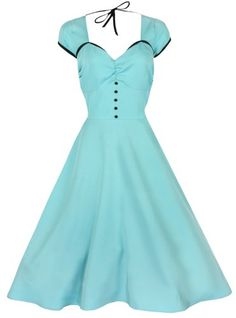 Lindy Bop 'Bella' Classy Vintage 1950's Rockabilly Style Swing Party Jive Dress - List price: $48.99 Price: $36.99