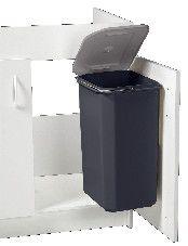 poubelle plastique pour meuble 32l cuisine pinterest. Black Bedroom Furniture Sets. Home Design Ideas