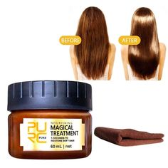 Deep Hair Conditioner, Hair Roots, Hair Treatment Mask, Dry Damaged Hair, Hair Supplies, Soft Hair, Hair Care Tips, 5 Seconds, Restore