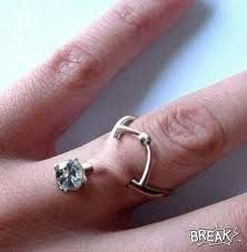I want this finger dermal piercing, engagement purposes or not.