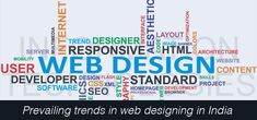 Prevailing trends in web designing in India! We are today in an era of latest web driven businesses where people are more inclined towards quality web services. Today a lot of work and business can be done with a few clicks. #WebsitedesigninIndia