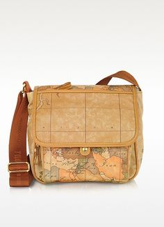 Alviero Martini 1A Classe Geo Print Shoulder Bag