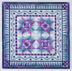 As I was saying the other day.... I think it's time to tinker around with some of those traditional quilt star blocks, and make a few new c...