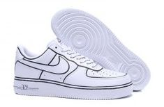 reputable site 19e77 272f6 Durable Nike Air Force 1  07 LV8 White Black 315122 111 Women s Men s  Casual Shoes Sneakers  315122--111