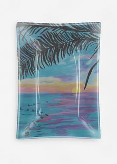 A beautiful and unique oblong glass tray that is perfect for your collection! Shop artistic oblong glass tray's created by designers all around the world. Vida Design, Glass Tray, Edge Design, Electronic Devices, The Originals, Credit Cards, Art Supplies, Beach, Artwork