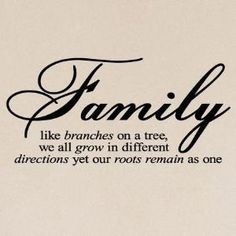would love to stencil this above a display of pictures of my family