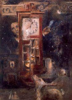 El reloj. 1958. Obra de Antonio López García