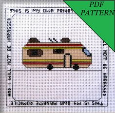 This Is My Own Private Domicile PDF Pattern
