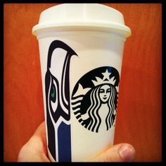 Seahawks and Starbucks = Awesome!
