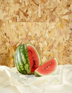 Set Design and Prop Styling by Sarah Parker.   Yellowtrace - watermelon