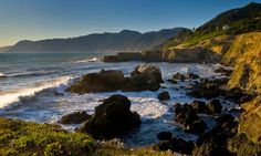Shelter Cove, Lost Coast - California. Black Sand Beach - owned a piece of property there for awhile.