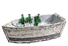 Perfect IceBucket for a nautical party theme...