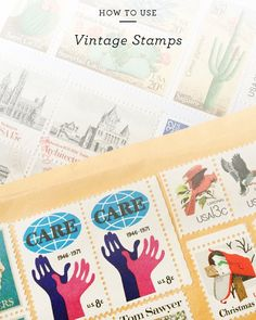 I source most of my vintage postal stamps from @ebay - so my latest eBay guide is all about how to use them for wedding invitations and other special stationery! A few sourcing tips some stamp combination ideas and an entire collection of my personal favorite stamps. Link on OSBP! by beautifulpaper