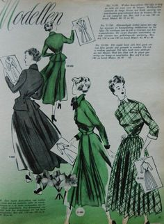 dresses, Margriet 1950