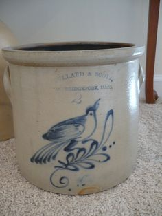 Stoneware Crock from Al Behr | Flickr - Photo Sharing!