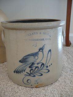 Stoneware Crock from Al Behr