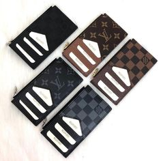 Louis Vuitton Coin and Card Holder Genuine Leather Coin Card Holder Size: x 8 cm Handmade Leather Wallet, Handmade Bags, Coin Card, Card Wallet, Gucci Card Holder, Card Holders, Louis Vuitton Coin Purse, Louis Vuitton Collection, Best Travel Accessories