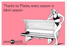 I love Pilates!