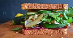 "Sandwich #250–""The Vegetarian"" A to Z Alphabet Sandwich from 300Sandwiches"