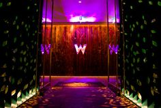 W Hotel Downtown Atlanta *We walked in All dressed up in our wedding clothes... Very special*