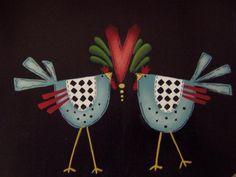Shara Reiner birds on seat