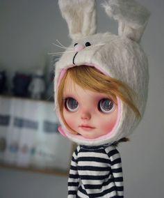 Pepa Nomad, Vainilladolly Blythe doll Custom OOAK
