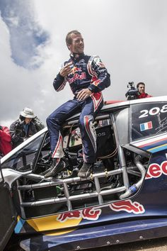 Sébastien Loeb and his Peugeot 208 T16 #PikesPeak win Pikes Peak in a new world…