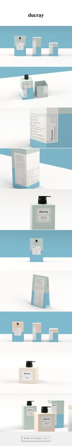 Ducray Sensinol - Rebranding on Behance - created via http://pinthemall.net