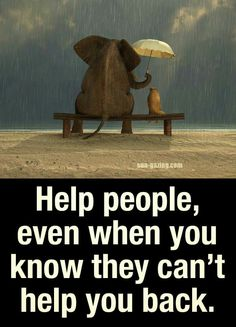 Help people, even when you know they can't help you back Helping Others, Helping People, Volunteer Quotes, Fb Status, When You Know, Religious Quotes, Peace And Love, Life Lessons, Lessons Learned