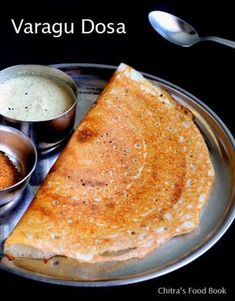 Kodo millet/Varagu dosa - Healthy breakfast/dinner recipe !