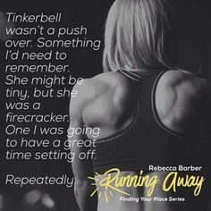NEW RELEASERunning away (Finding Your Place #2) By Rebecca Barber  SNEAK PEEK  I watched them go. There was a story there. A dark story that obviously hurt but one I desperately wanted to know. The way his worn jeans moulded his perfectly biteable butt made my mouth water. Then there was his shirt. If I thought for a moment he filled it out well from the front then the back view was something else altogether. My fingers itched to run down his muscles and feel them tense beneath my nails…
