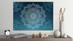 Tablou din aluminiu striat Grey and White Mandala Frames On Wall, Framed Wall Art, Grey And White, Mandala, Tapestry, House Design, Interior Design, Inspiration, Home Decor