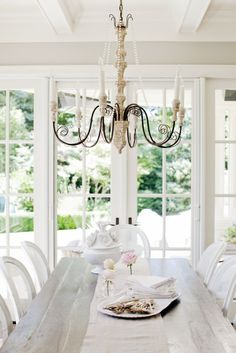 West Van Residence   The Cross Crosses Decor, Interior Design Services, Home Renovation, Home And Family, Sweet Home, Dining Room, Chandelier, Ceiling Lights, Table Decorations