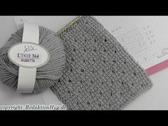 Tunisian Crochet - scarf pattern in Vienna (IN GERMAN - If you are familiar with Tunisian Crochet you can watch this video to learn this stitch... The video is very good... Deb)