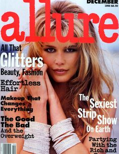 Magazine photos featuring Claudia Schiffer on the cover. Claudia Schiffer magazine cover photos, back issues and newstand editions. Fashion Magazine Cover, Fashion Cover, Magazine Covers, 90s Fashion, Fashion Models, Claudia Schiffer, New York Life, 90s Models, Elle Magazine