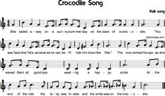 Crocodile Song - Beth's Notes